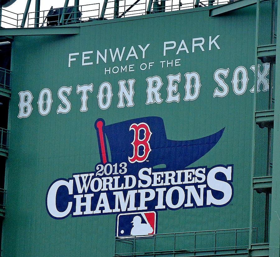Boston Red Sox 2013 World Series Champions by Bart Blumberg