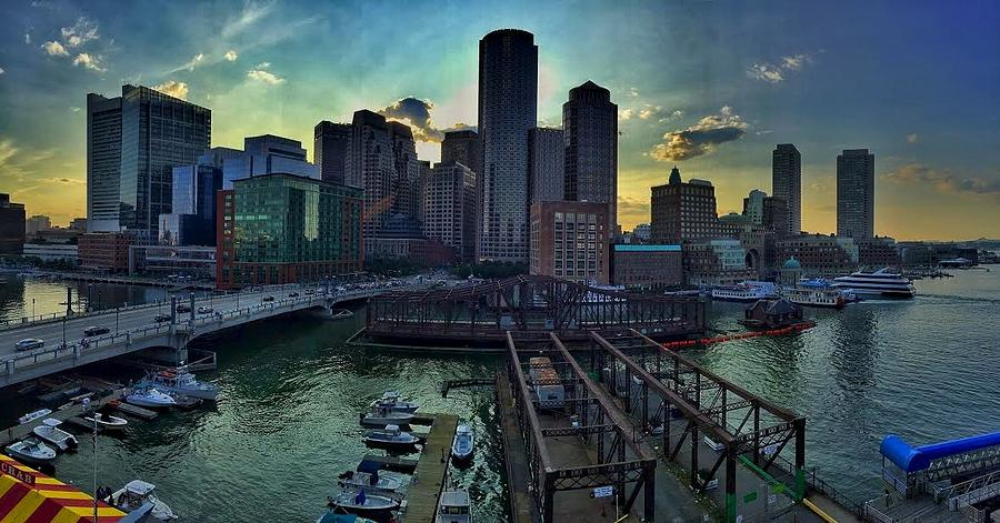 Boston Seaport District by Rick Macomber