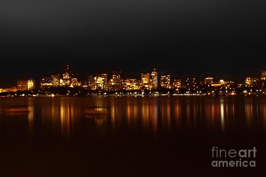 Boston Photograph - Boston Skyline by Frank Garciarubio