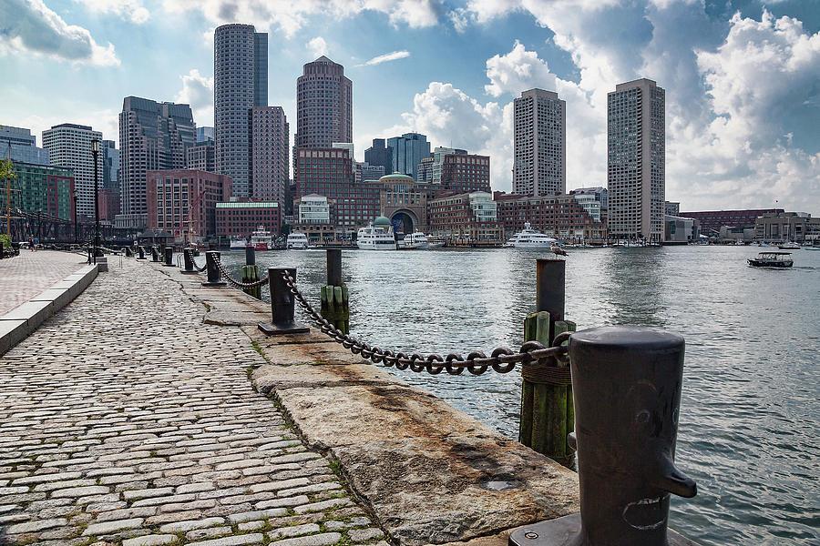 Boston Skyline from Fan Pier Park by Jemmy Archer