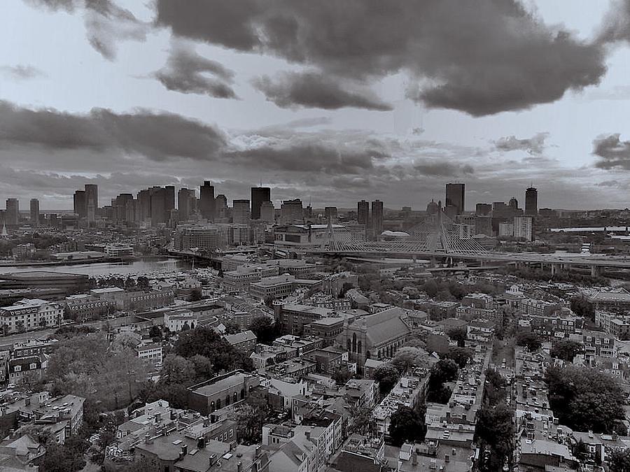 Boston Skyline by Rick Macomber