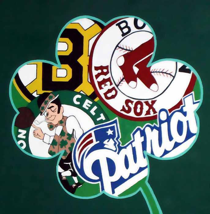 Boston Red Sox Photograph - Boston Sports Life by Melissa Laitman
