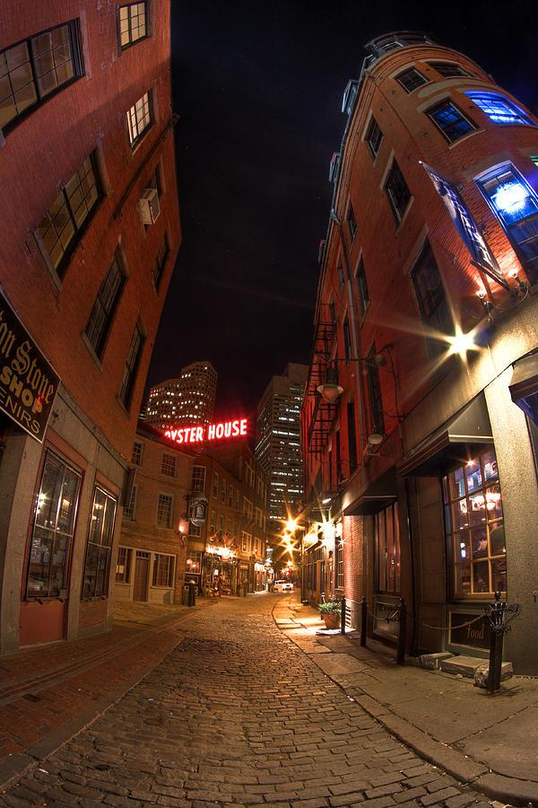 Hdr Photograph - Boston Street by Joshua Ball