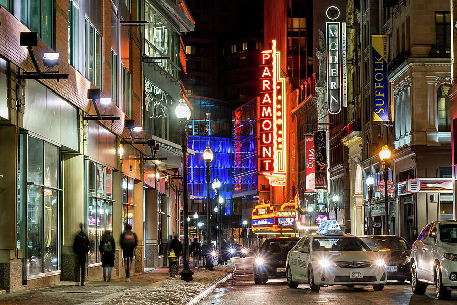 Boston Theater District by Christopher Brown