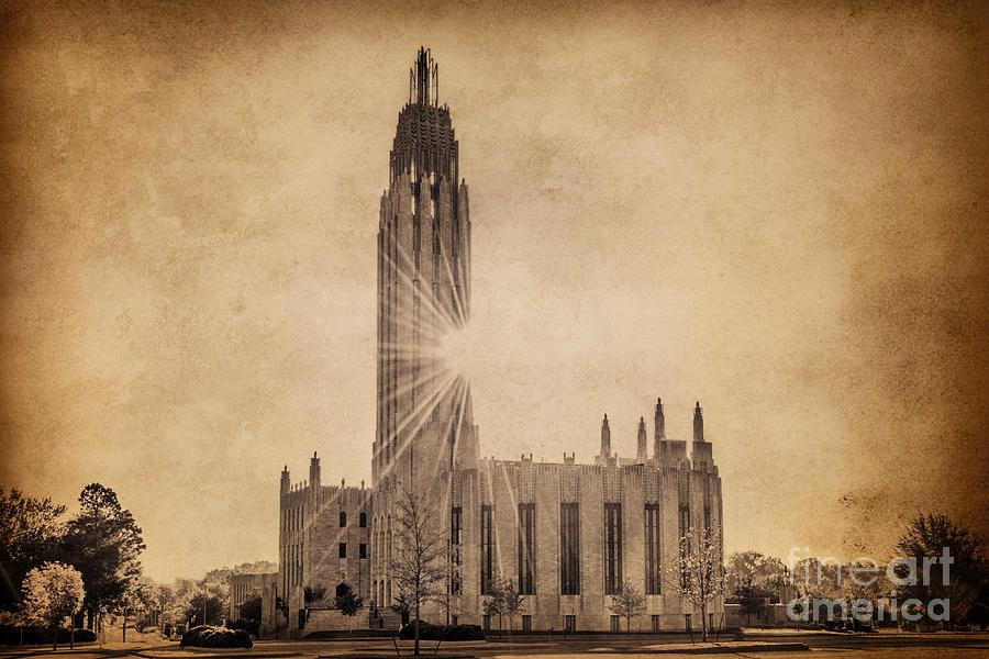 Tulsa Photograph - Boston United Methodist Church by Tamyra Ayles