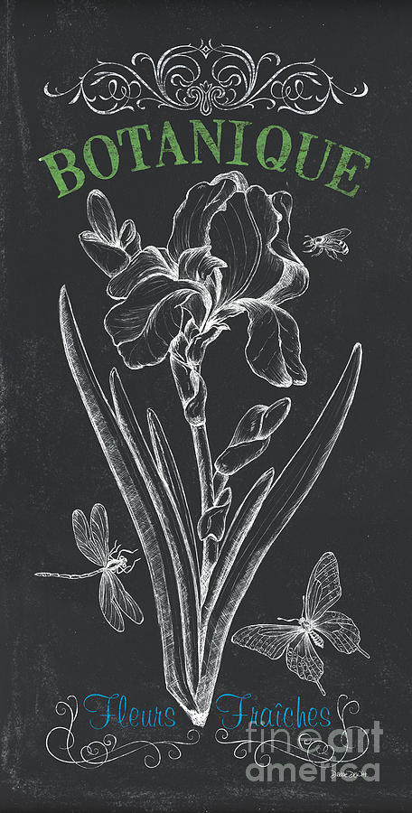 Floral Painting - Botanique 1 by Debbie DeWitt