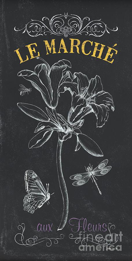 Floral Painting - Botanique 3 by Debbie DeWitt