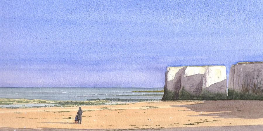Seascape Painting - Botany Bay Broadstairs by Martin Howard