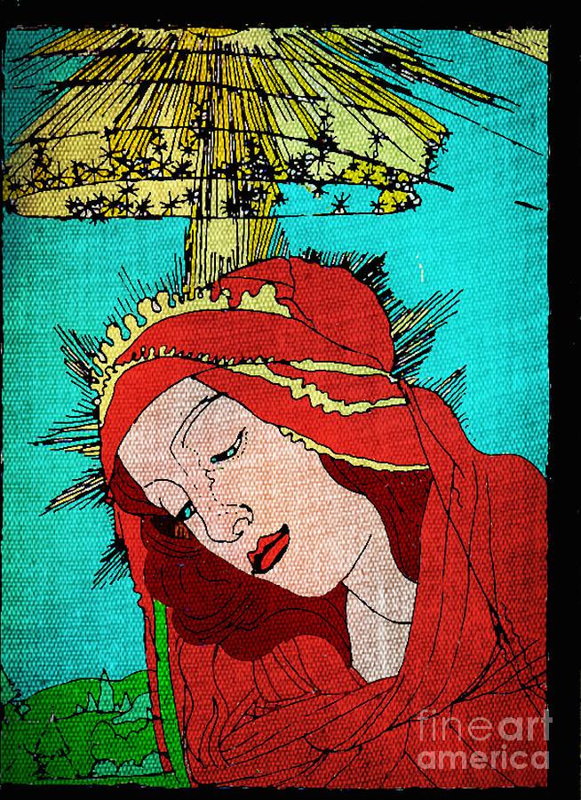 Botticelli Madonna Fabrique Painting
