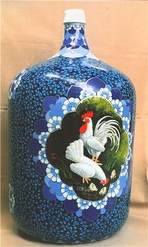 Painting Glass Art - Bottle Arts 2 by Yuki Othsuka