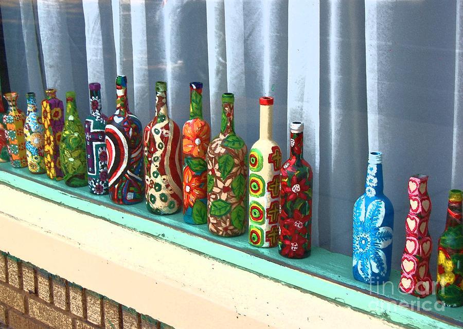 Bottles Photograph - Bottled Up by Debbi Granruth
