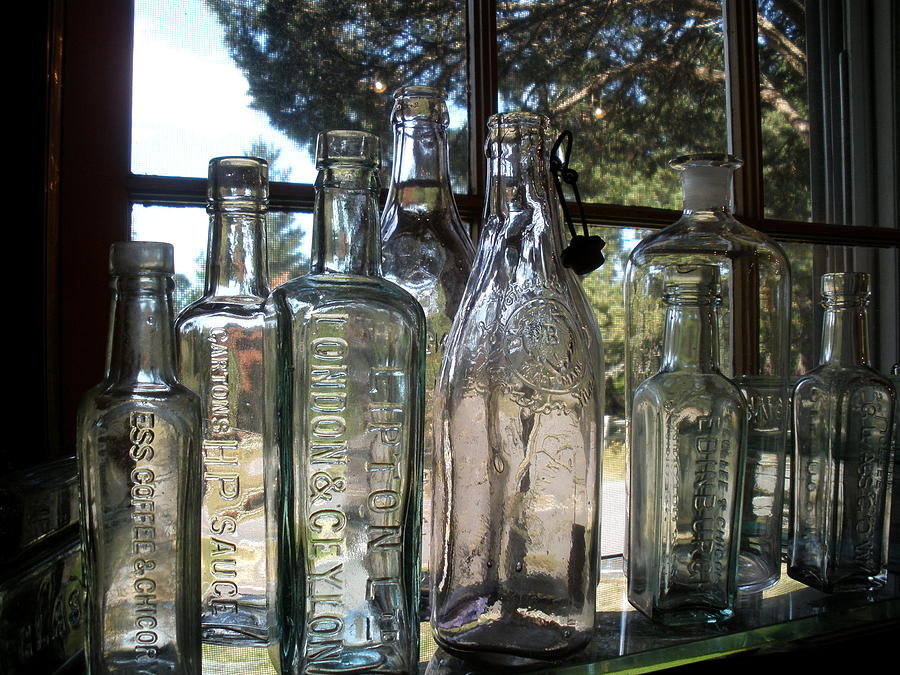 Bottles Photograph - Bottled Up by Richard Mansfield