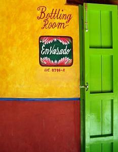 Door Photograph - Bottling Room by Lili Vanderlaan