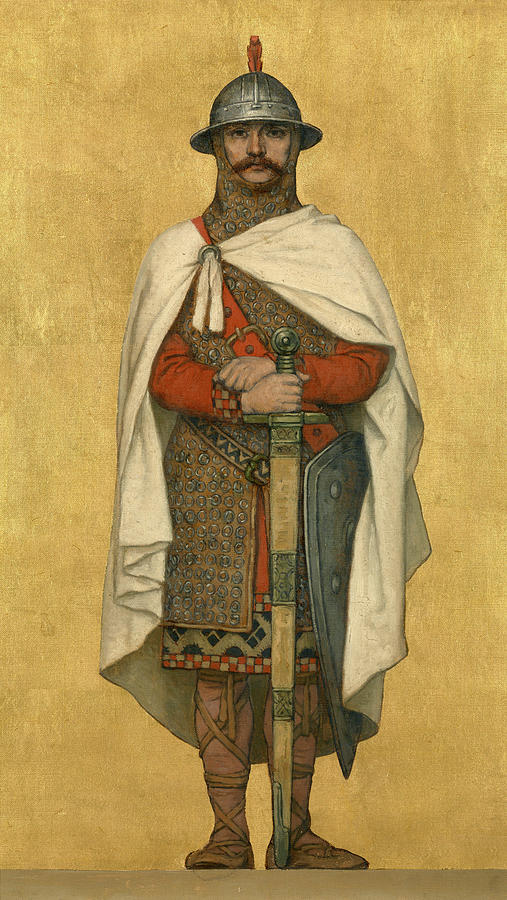 Baldwin Painting - Baldwin Iv by Albert De Vriendt