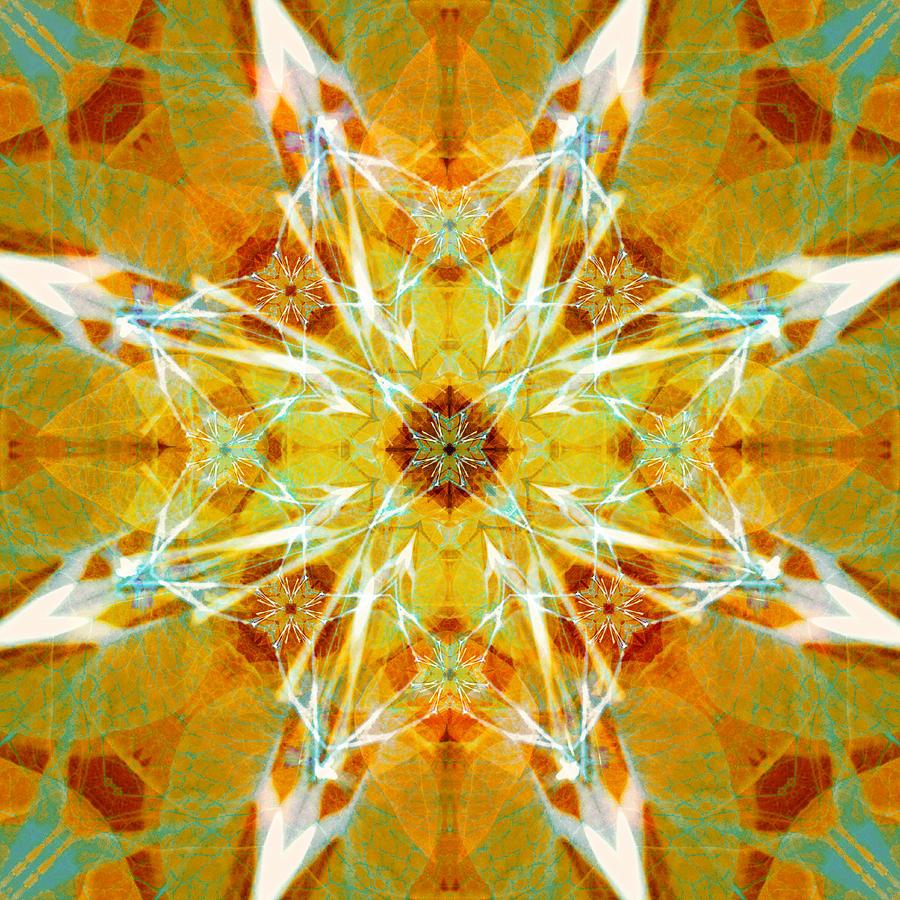 Bougainvillea Kaleidoscope Number Two Digital Art by Jipsi Immanuelle