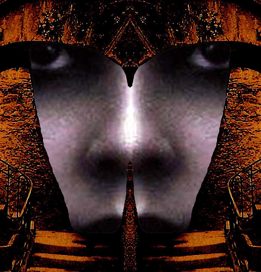 Eyes Digital Art - Bouillon Girl by Rodger Insh
