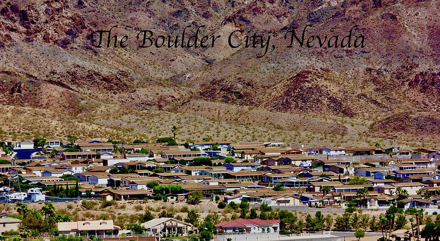 Boulder City Photograph