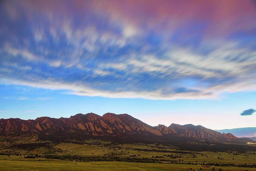 Colorado Photograph - Boulder Colorado Dreaming by James BO Insogna