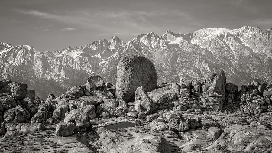 California Photograph - Boulders And Mountains - Sierra Nevada by Joseph Smith