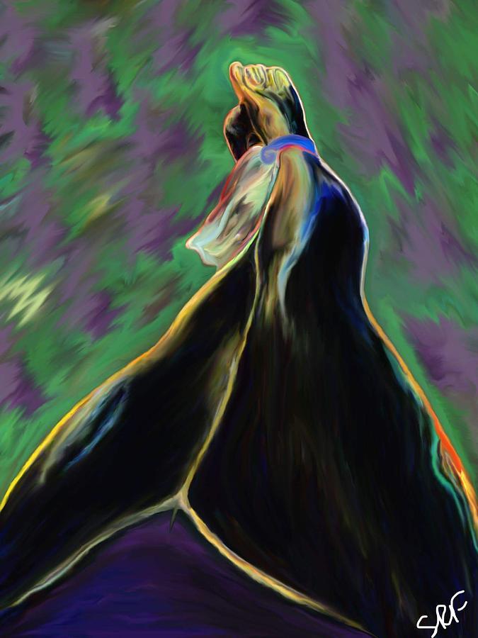 Bondage Digital Art - Bound By Ankles by Savannah Fonner