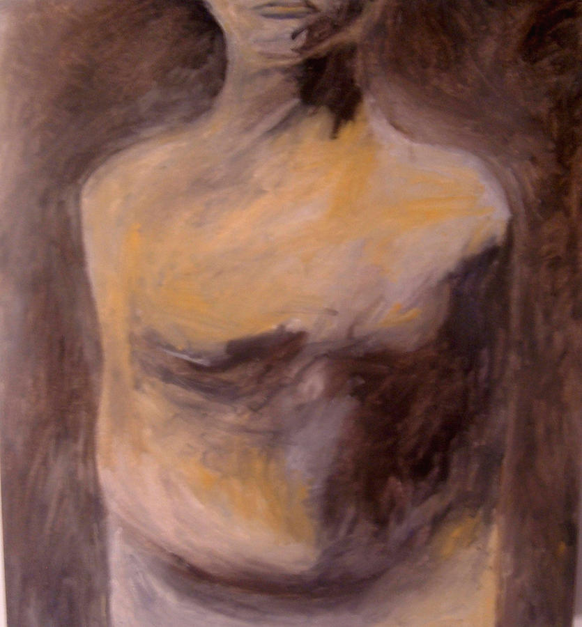 Figure Painting - Bound by Cynthia  Church
