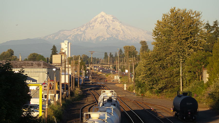 Mt. Hood Photograph - Bound For Glory by FRed Velvet