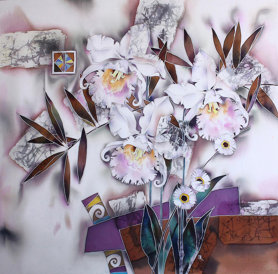 Impressionism Painting - bouquet 2 by  Korolkova Marija