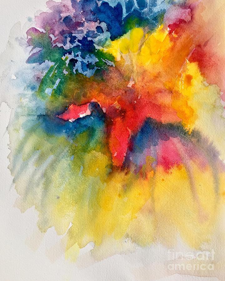 Bouquet Painting