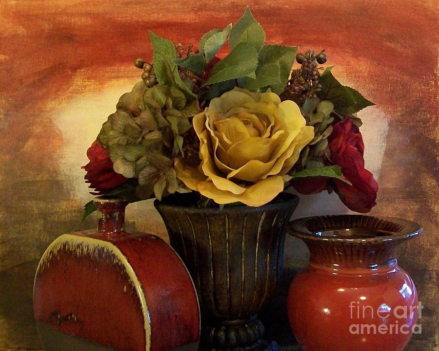Photo Photograph - Bouquet Decor Ll by Marsha Heiken