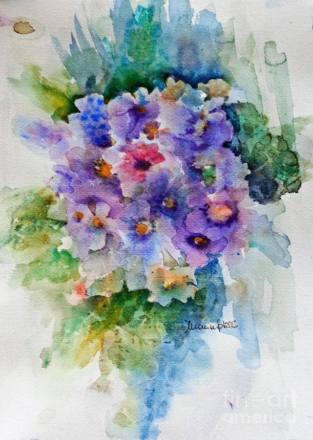 Landscapes Painting - Bouquet by Marisa Gabetta