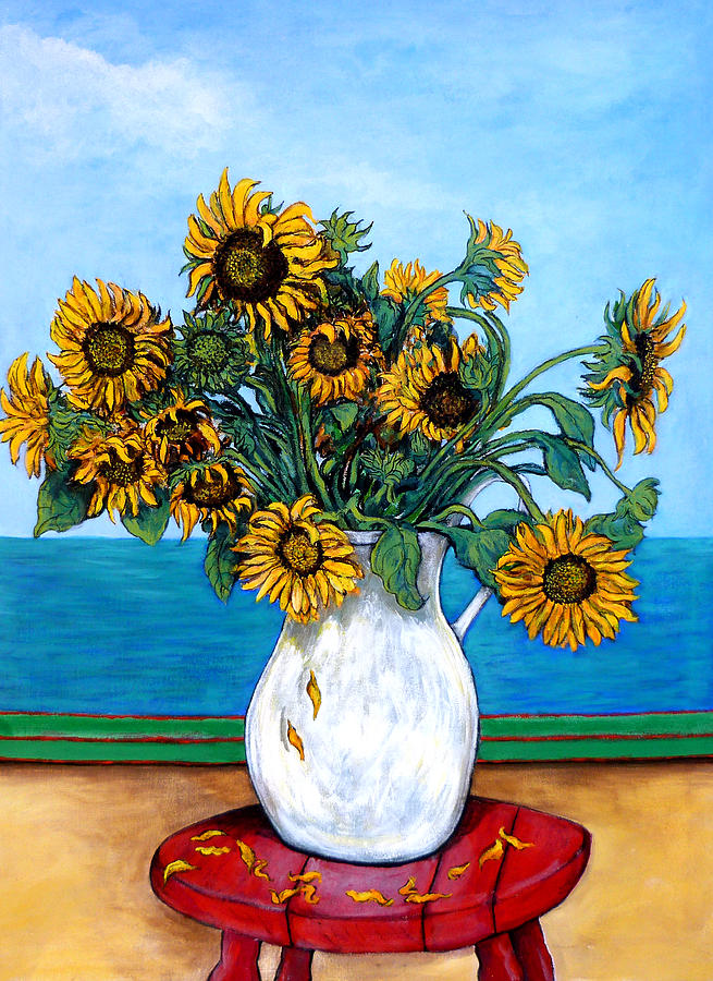Sunflowers Painting - Bouquet Of Beauty by Tom Roderick