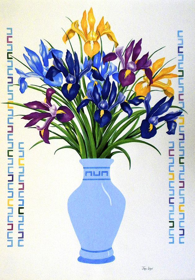 Bouquet of Irises by Jan Law