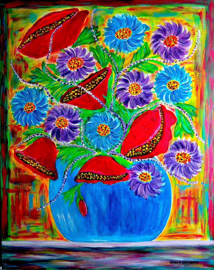 Bouquet of Love by Gina Nicolae Johnson