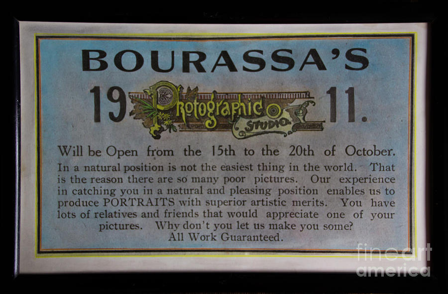 Photo Photograph - Bourassas Photographic Studio by Al Bourassa