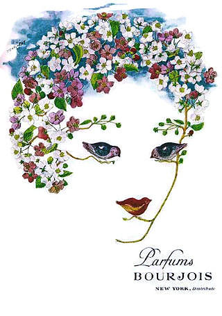 Perfume Ad Digital Art - Bourjois by ReInVintaged