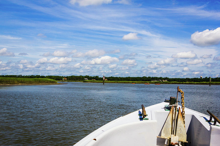 Bow of Boat, Broad Creek by Randy Bayne