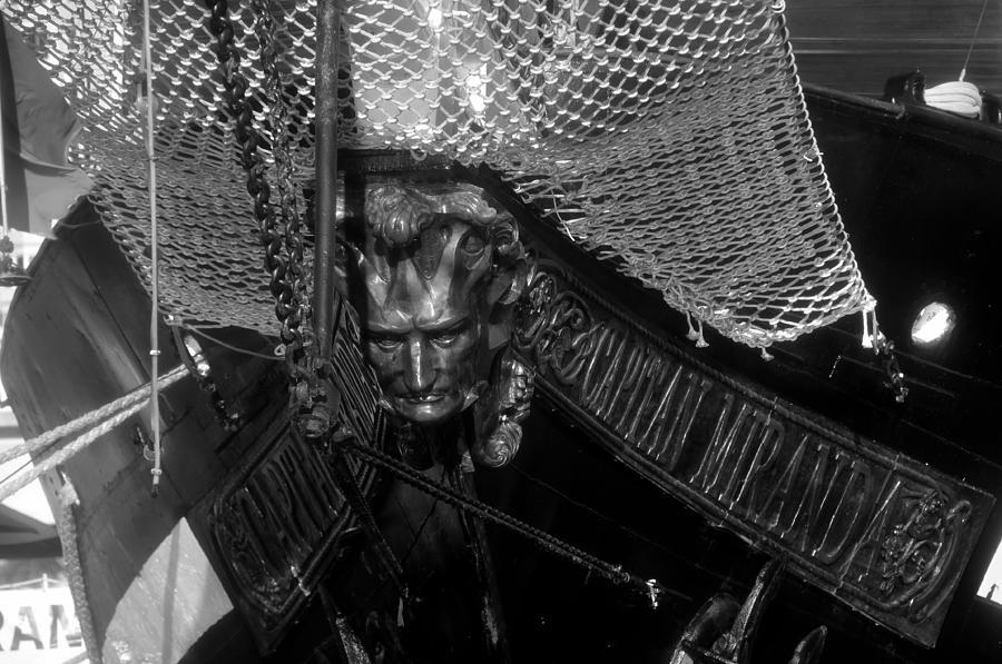 Uruguay Photograph - Bow Of The Captain Miranda by David Lee Thompson