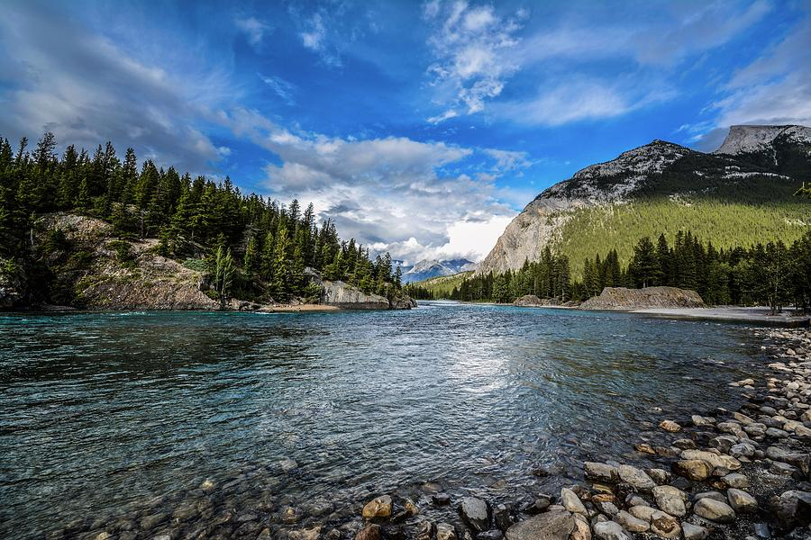 Bow River Photograph - Bow River Alberta by Karl Anderson