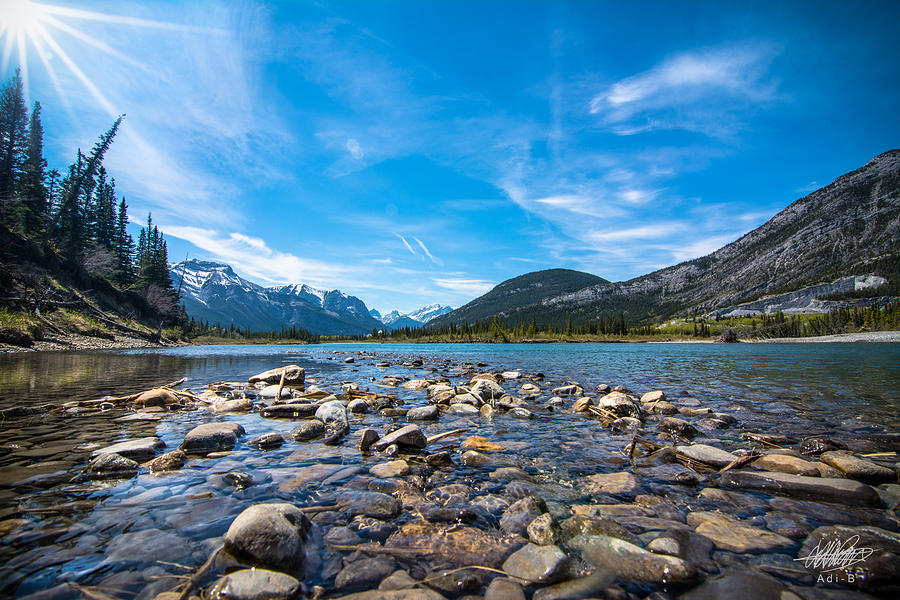 Photograph - Bow Valley Campground by Adnan Bhatti