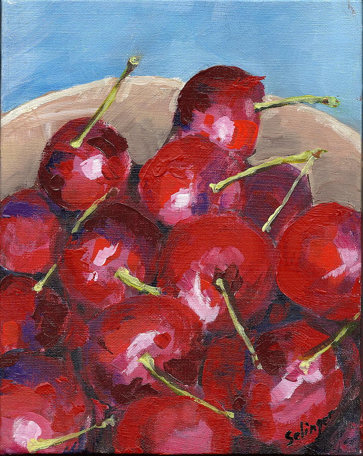 Bowl of Cherries by Kathie Selinger