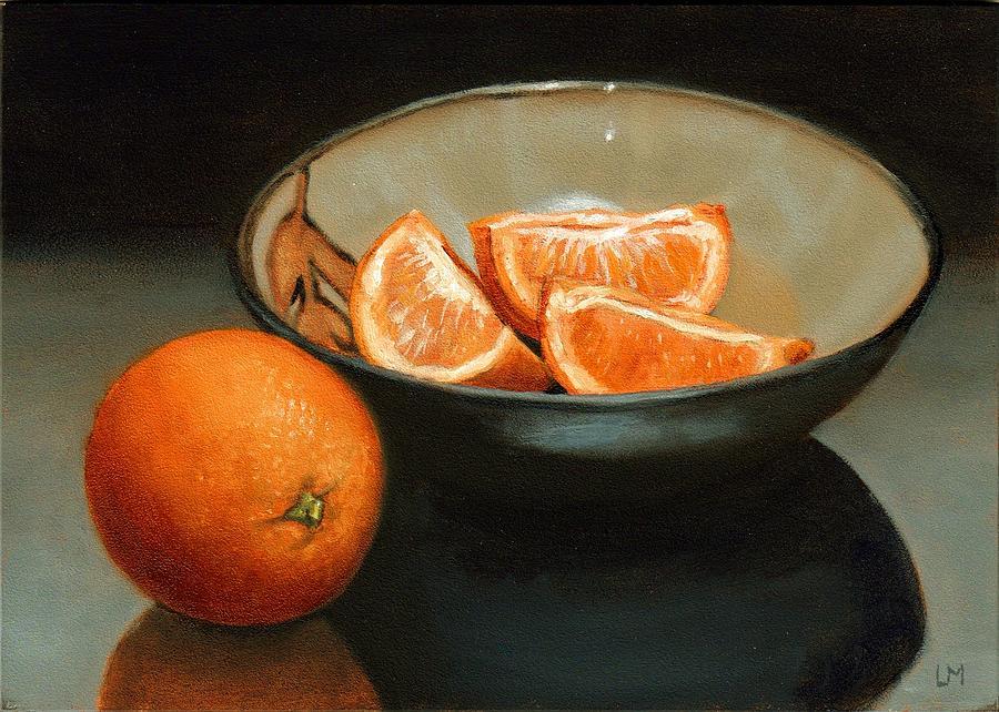 Bowl of Oranges by Linda Merchant