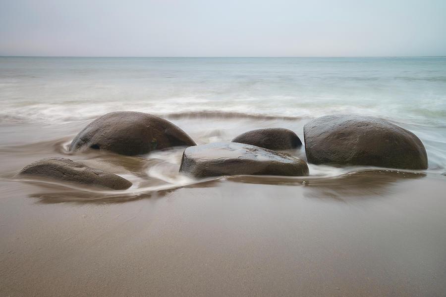 Bowling Ball Beach Photograph