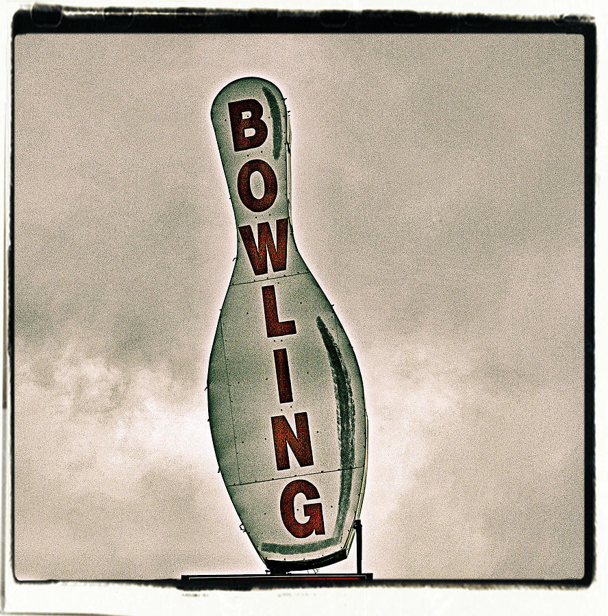 Vertical Photograph - Bowling by Photograph by Bob Travaglione FoToEdge