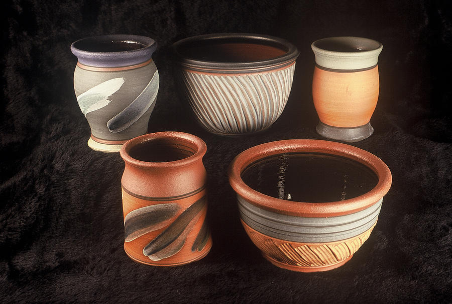 Bowls And Jars Ceramic Art by Kreg Owens