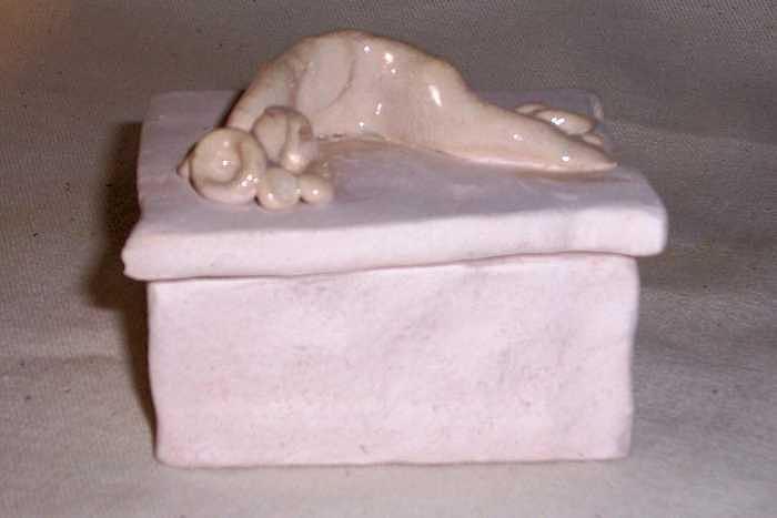 box Ceramic Art by Pat Reaves