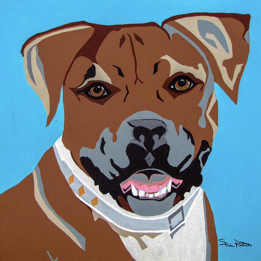 Boxer Painting - Boxer by Slade Roberts