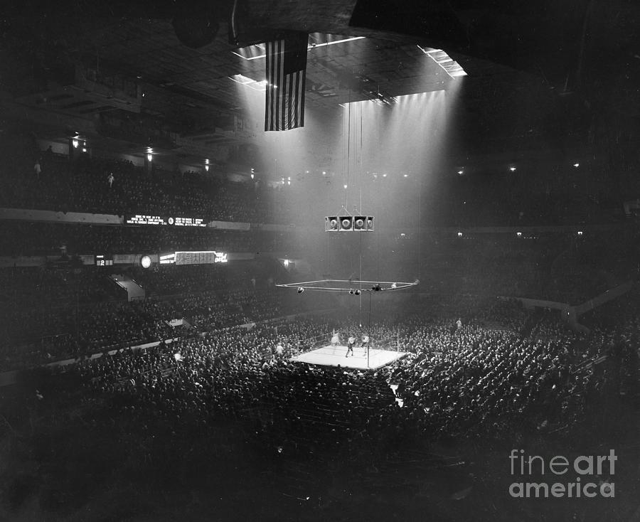 1941 Photograph - Boxing Match, 1941 by Granger