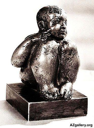 Boy Sculpture - Boy by Emin Guliyev