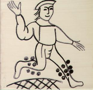 Boy Ceramic Art by Maria do carmo Cid peixeiro