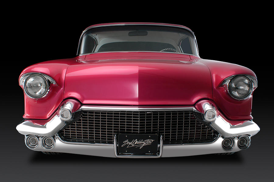 Boyd's '57 Pink Cadillac Photograph by Dennis Fugnetti